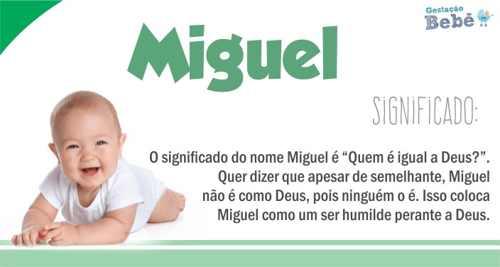 características do nome miguel