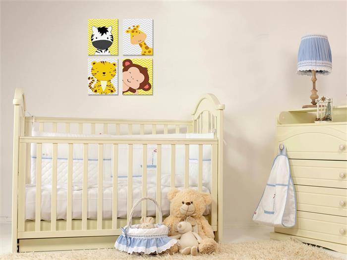 quadros para quarto de bebe