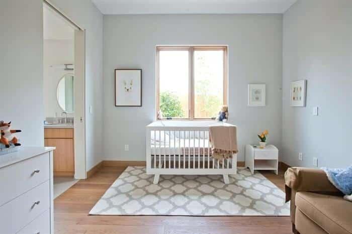 tapete para quarto de bebe