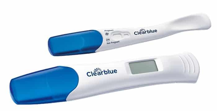 teste de gravidez clearblue como usar