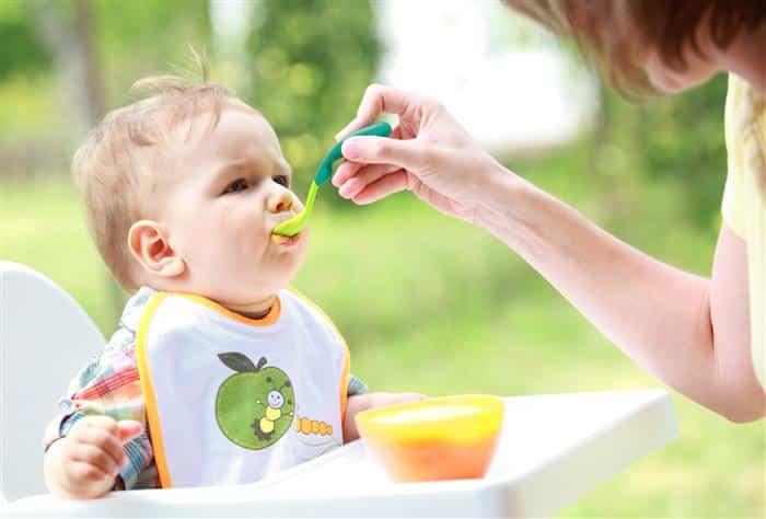 como aumentar a absorção de ferro do bebê