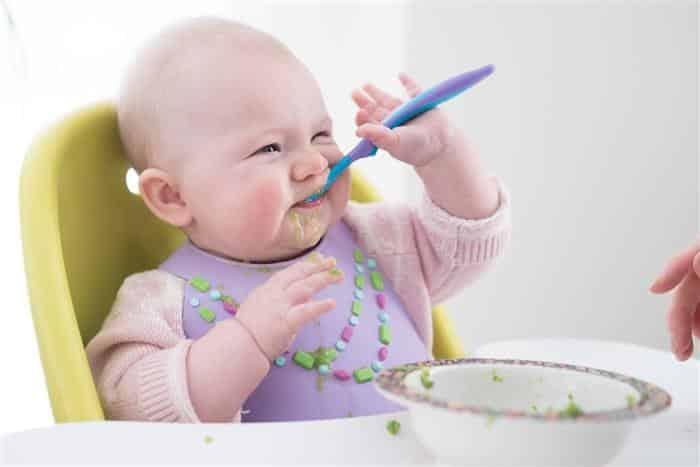 introdução alimentar com 6 meses