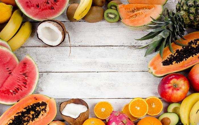 introdução alimentar com frutas