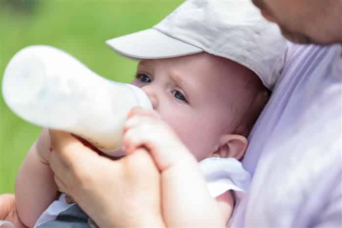 leite para recém-nascido