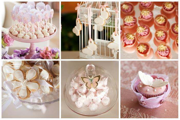 doces decorados de cha de bebe