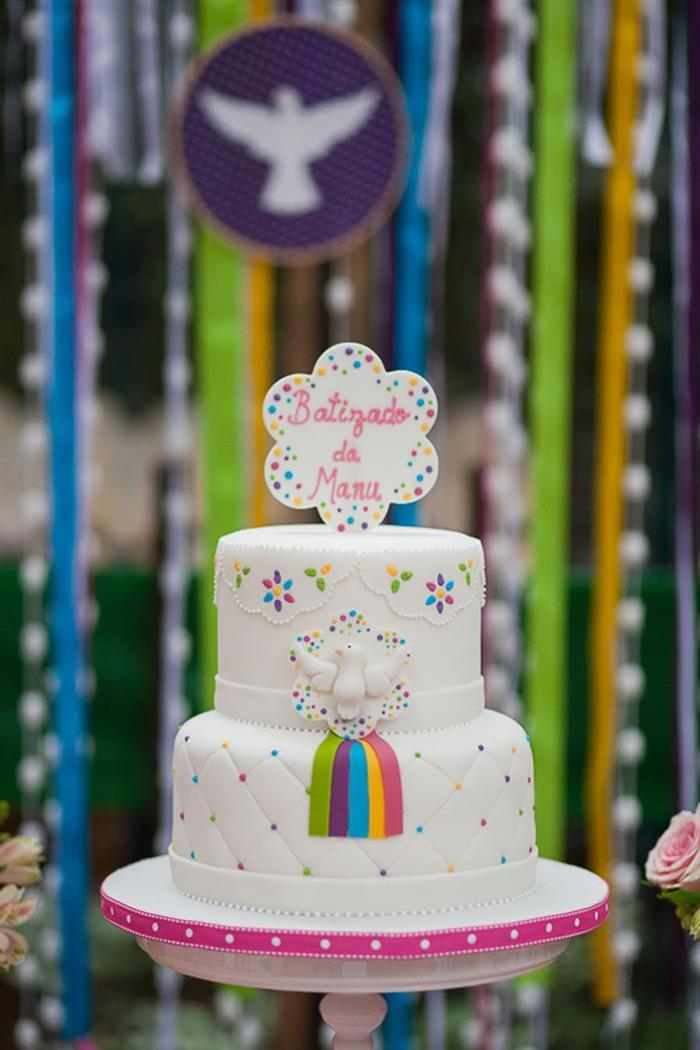 bolo de batizado tema