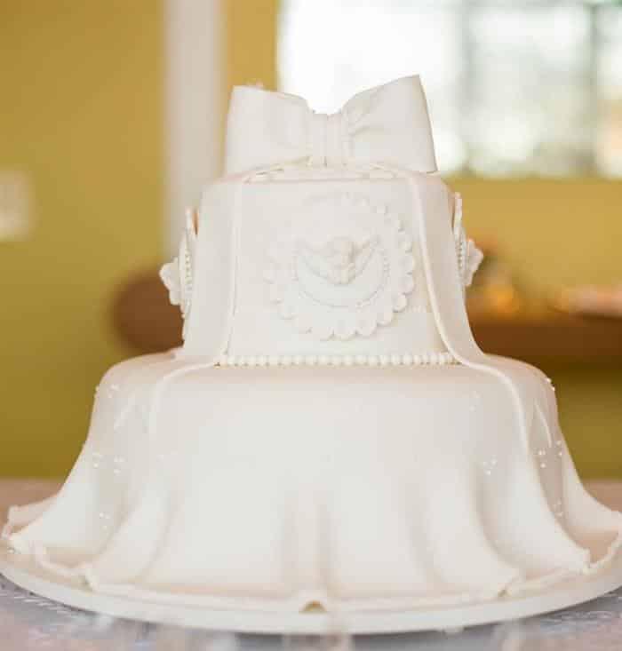 bolo de batismo