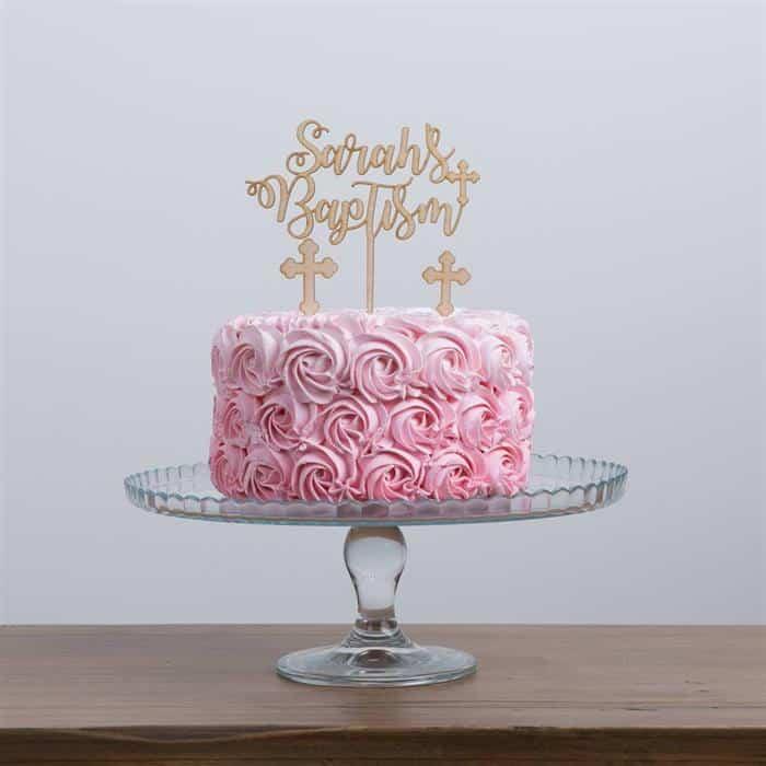 bolo para batizado de bebe