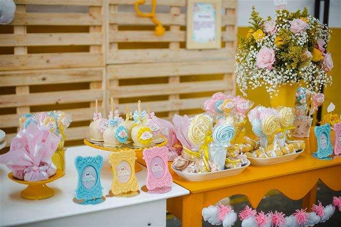 decoração chá de bebê chuva de amor