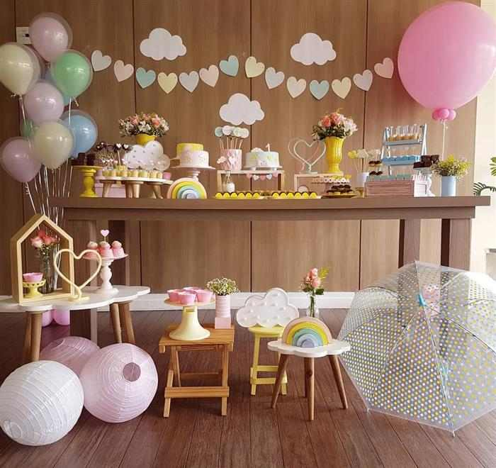 como decorar cha de bebe
