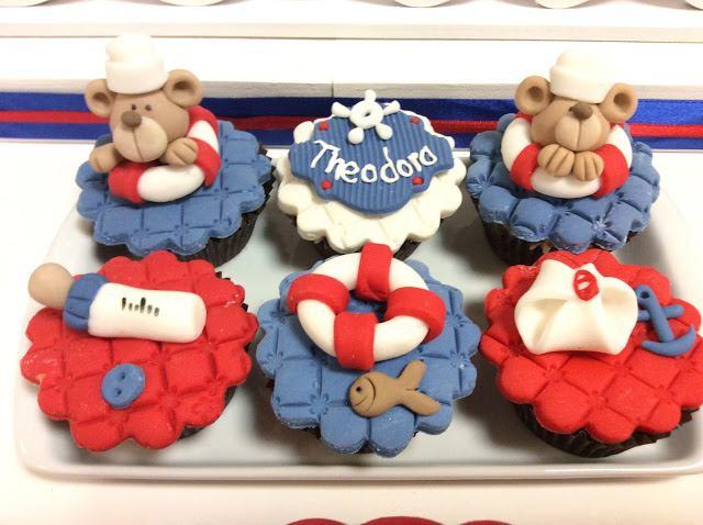cupcakes para cha de bebe