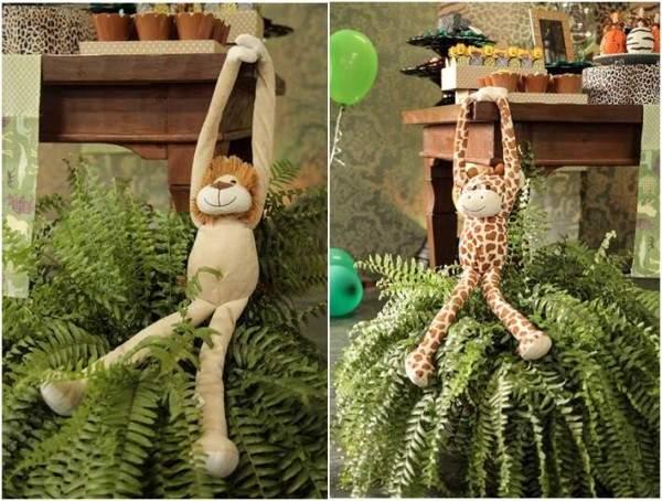 decoração cha de bebe tema safari