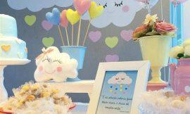 Chá de Bebê Chuva de Amor: 60 fotos e ideias de decoração
