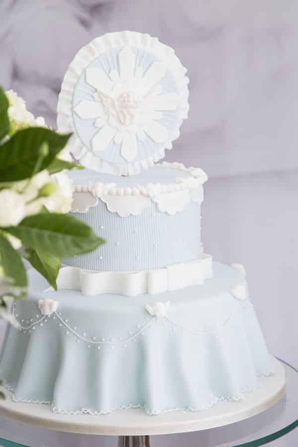 bolo de batizado com mandala do espirito santo