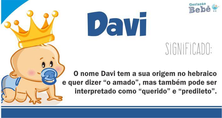 significado do nome davi