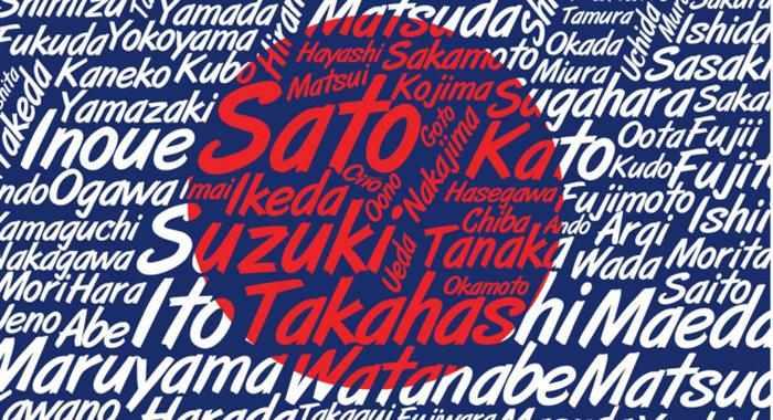 sobrenomes japoneses