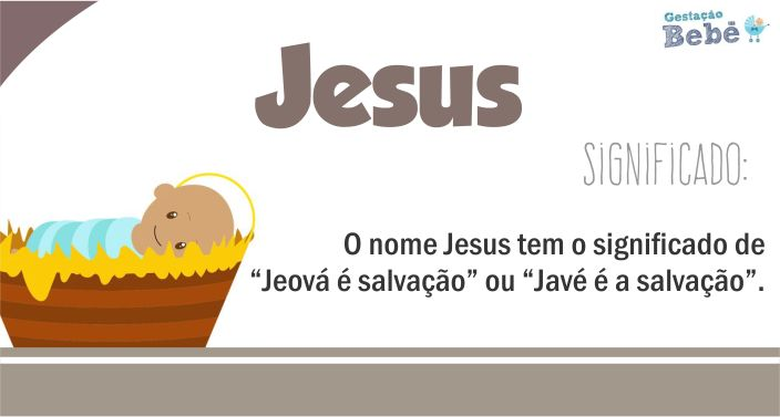 significado do nome jesus