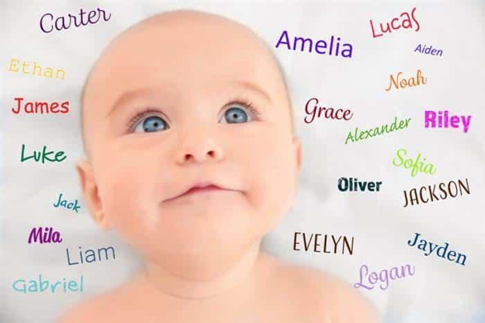 nomes de bebês 2020 masculino e feminino