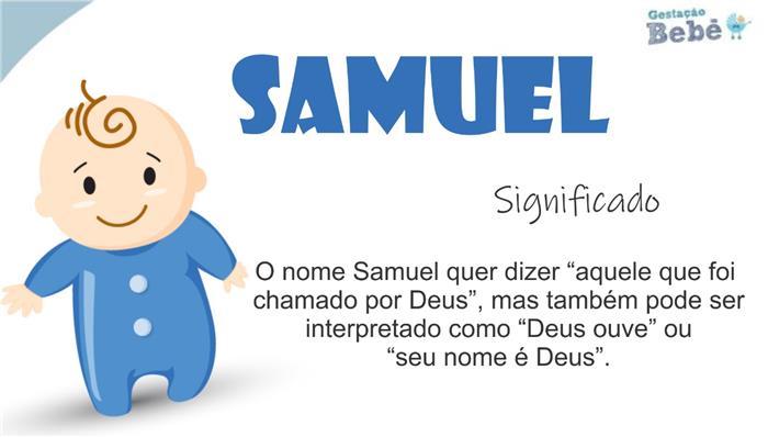 personalidade do nome samuel