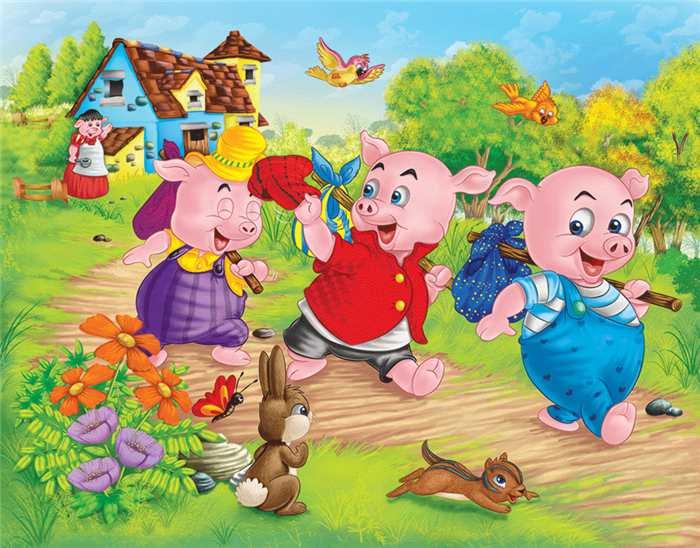 Os Tres Porquinhos Historia Infantil Nomes