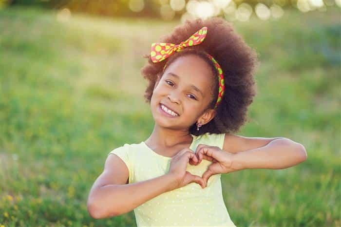cabelo afro feminino infantil