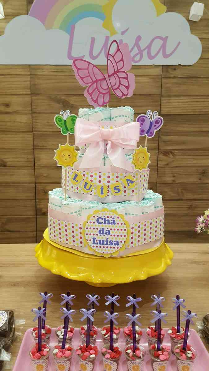 bolo de 3 andares