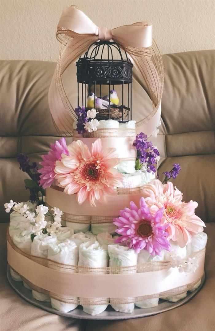 fotos de bolo de fraldas