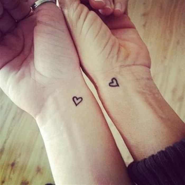 ideias de tatuagem de coração