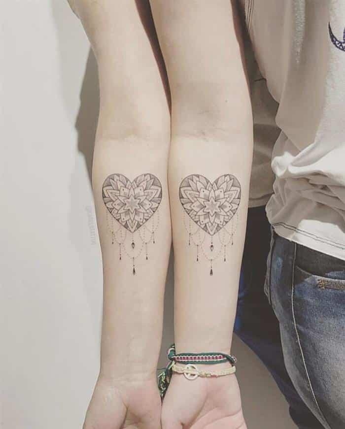 coração mandala