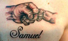 Tatuagem com Nome de Filho: fotos e ideias incríveis