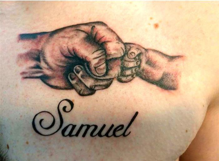 Tatuagem Com Nome De Filho Fotos E Ideias Incríveis