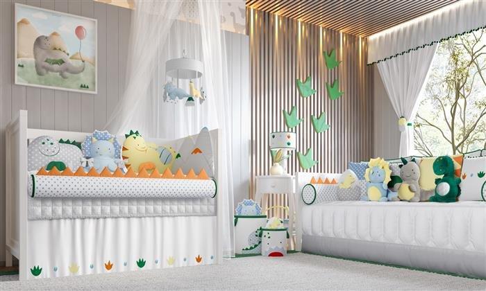 quarto de bebe masculino moderno