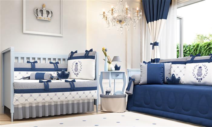You are currently viewing Azul Marinheiro: ideias para decorar o quartinho do bebê