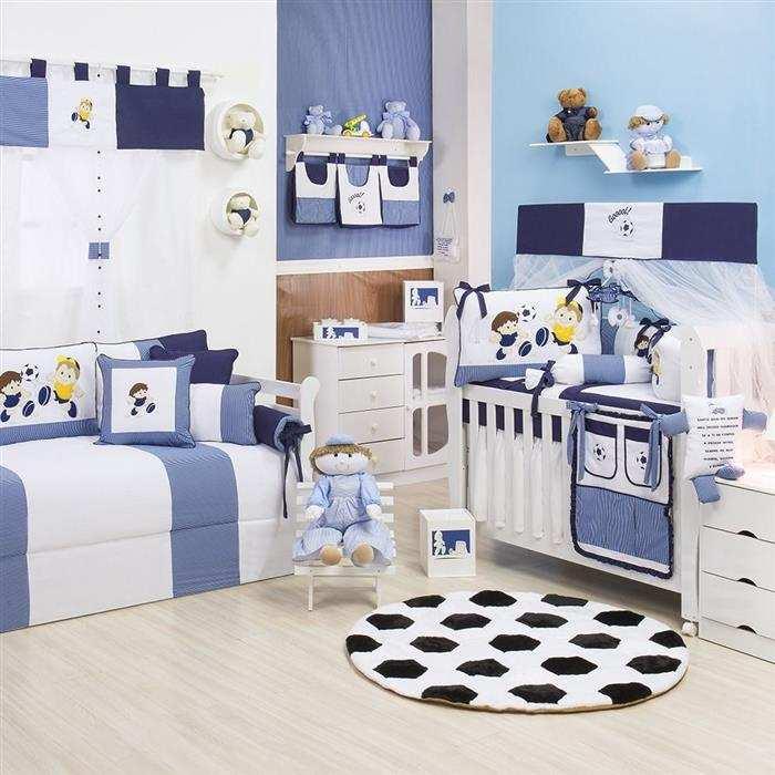 quarto de bebe pequeno