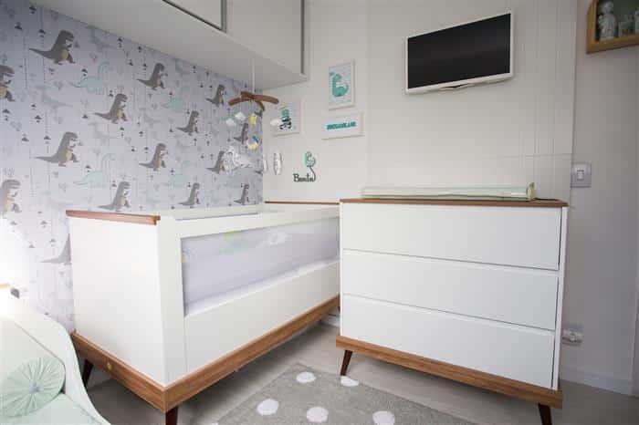 como decorar quarto de bebê simples