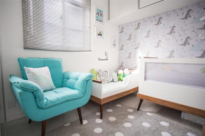 quarto de bebe simples masculino