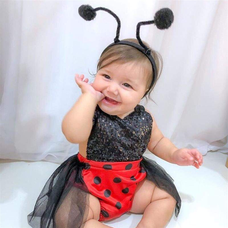 fantasia joaninha bebe
