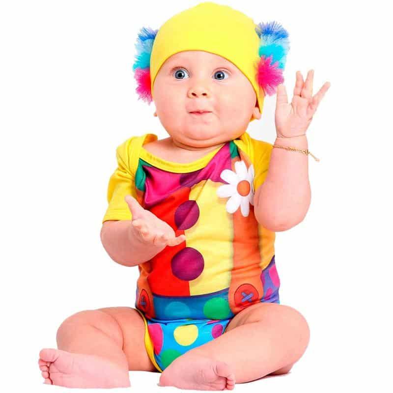fantasia infantil palhacinho bebe