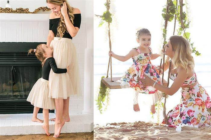 moda mae e filha