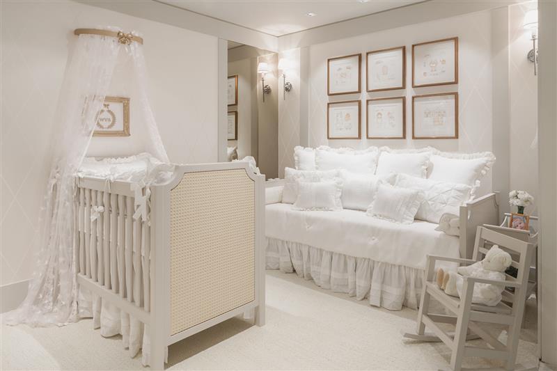 ideias para quarto de bebe menina