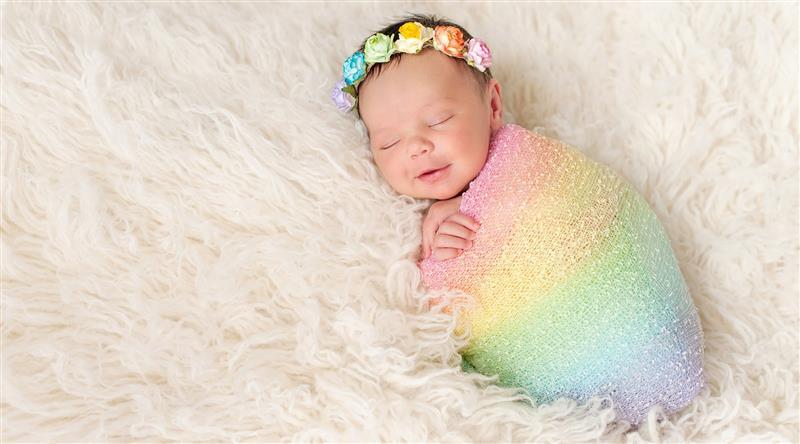 nomes para bebe arco iris