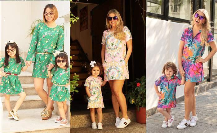 vestidos tal mãe tal filha