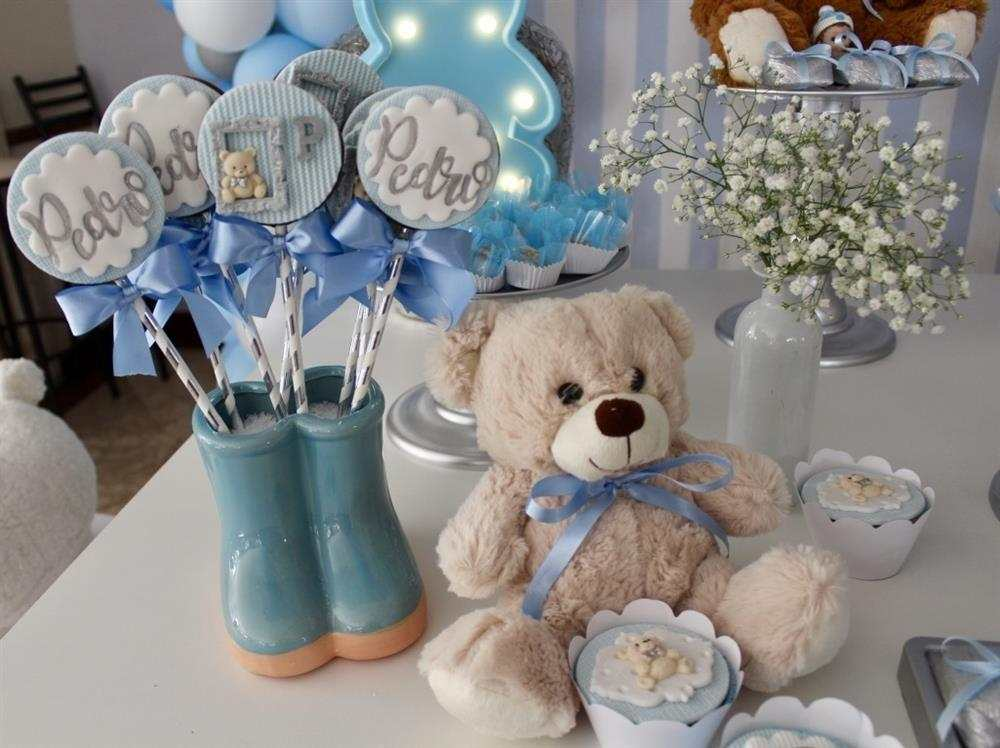 decoração para chá de bebê simples