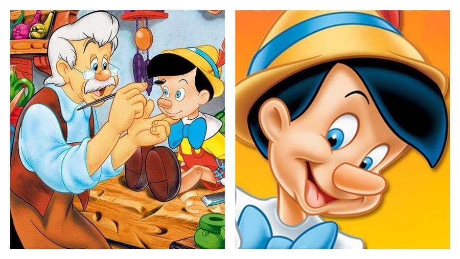 personagens de pinóquio