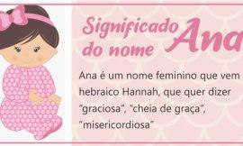 Significado do nome Ana: Clara, Liz, Luiza, Maria, Júlia, Carolina e Paula