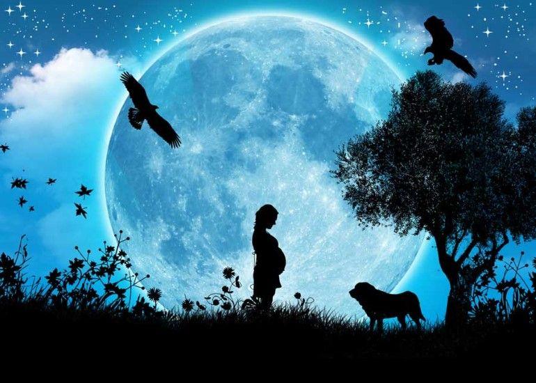 troca de lua