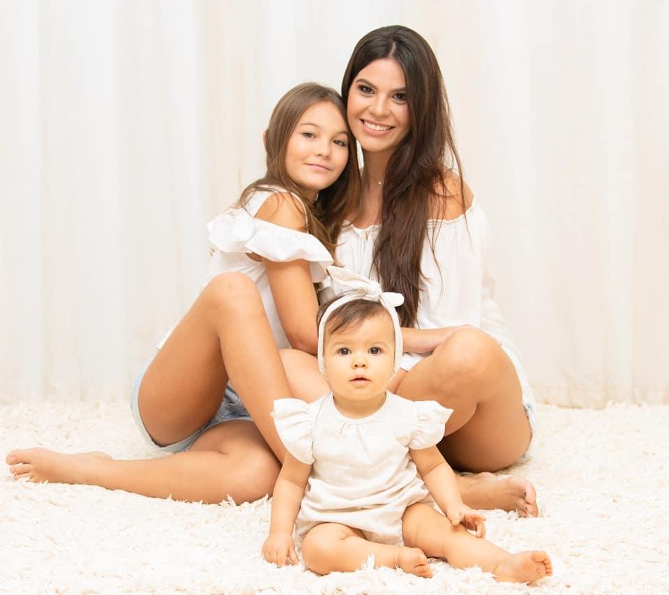 foto mae e filhas