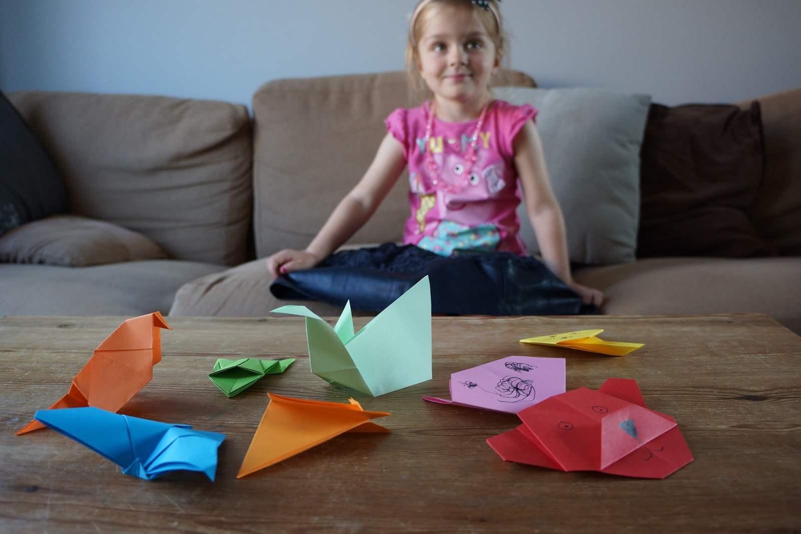 brincadeiras em familia com papel