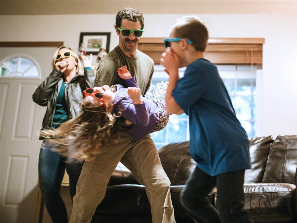 ideias de brincadeiras em familia