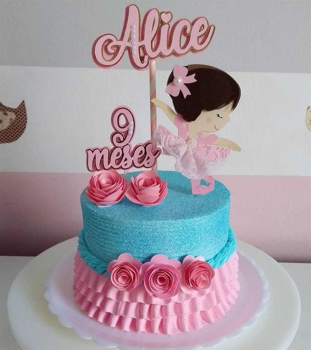 ideias de bolo mesversario